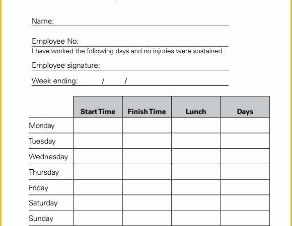 Excel Timesheet for Mac Free Download