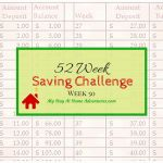 How Long Will My Money Last Timesheet for 52 Week Saving Challenge Week 50 Read About My Final Weekly Post and See if I Managed to
