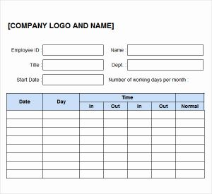 Mileage Tracker Timesheet Of Time Logs Template