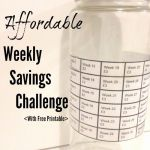 Money Timesheet for Spending Of A More Affordable Weekly Savings Challenge
