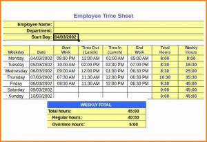 Rcuh Timesheet Template and 6 Payroll Timesheet Calculator